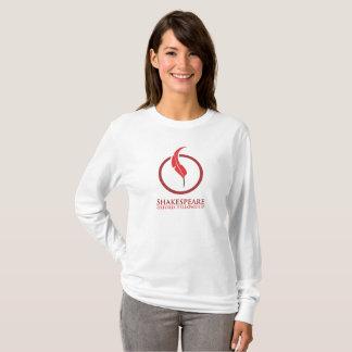 Stipendium-Frauen Shakespeare Oxford langärmlig T-Shirt