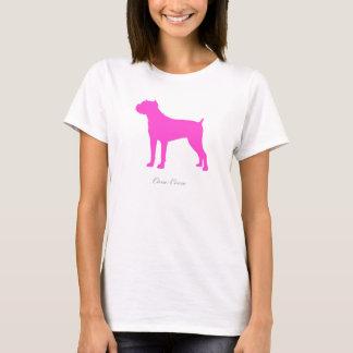 Stock Corso T - Shirt (rosa Silhouette)