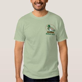 Stockenten-Ente gesticktes T-Shirt