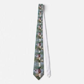 Stockenten-Ente Personalisierte Krawatten
