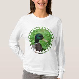 Stockenten-Kapuzenpulli T-Shirt