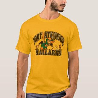 Stockentent-stück der langen Hülsenmänner T-Shirt