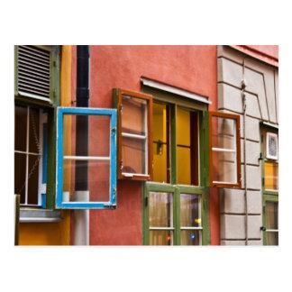 Stockholm-Fensterpostkarte Postkarte