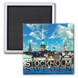 Stockholm Quadratischer Magnet