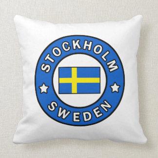 Stockholm Schweden Kissen