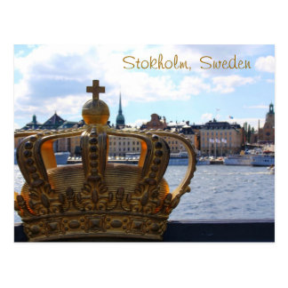 Stockholm, Schweden Postkarte