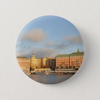 Stockholm, Schweden Runder Button 5,7 Cm