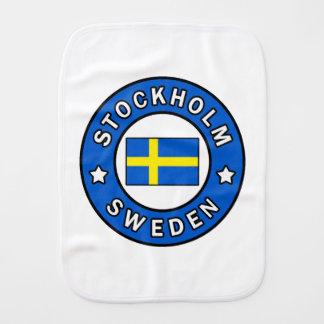 Stockholm Schweden Spucktuch