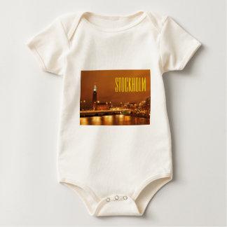 StockholmRathaus, Schweden Baby Strampler