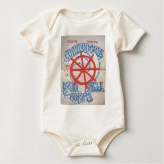 Stockton Flottenadmiral-Trommel-und Baby Strampler
