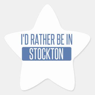 Stockton Stern-Aufkleber