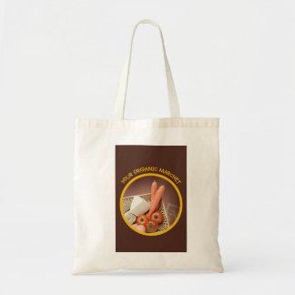 Stofftasche für den Einkauf am Bio Markt Budget Stoffbeutel