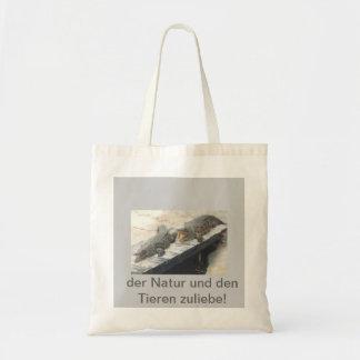 """Stofftasche """"Krokodile-der Natur zuliebe"""" Einkaufstaschen"""