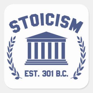 Stoicism Quadratischer Aufkleber