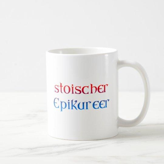 stoischer Epikureer Kaffeetasse