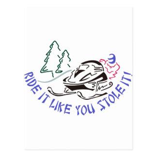 Stola es postkarte