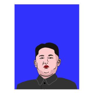 Stolid Kim Jong-UNO Postkarte