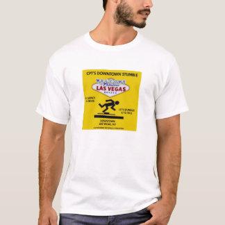 Stolpern-T - Shirt-Entwurf #3 CPTS im Stadtzentrum T-Shirt