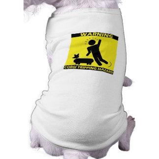 Stolpernd Gefahr - Corgi T-Shirt