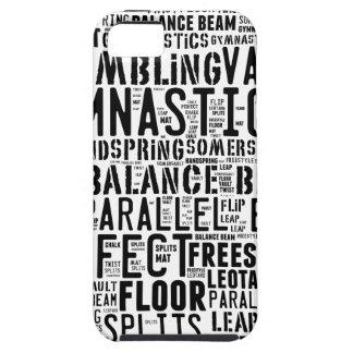 Stolpernde Gymnastik-Wort-Wolke iPhone 5 Etui