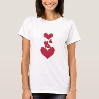 Stolpernde Herzen T-Shirt