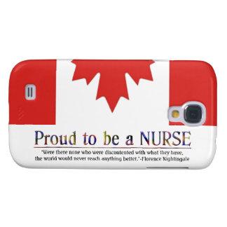 Stolz, a Krankenschwester-mit Zitat zu Galaxy S4 Hülle
