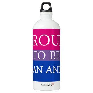 Stolz, asiatisch und Bi zu sein Wasserflasche