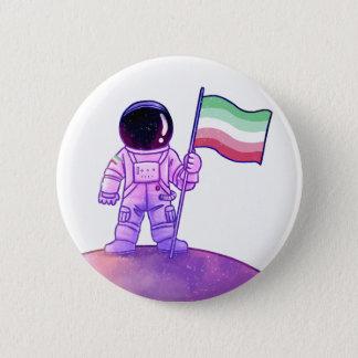 Stolz-Astronaut [Abrosexual] Runder Button 5,7 Cm