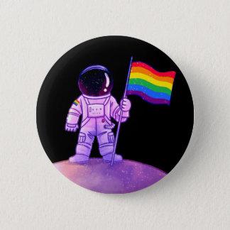 Stolz-Astronaut [homosexuell] Runder Button 5,1 Cm
