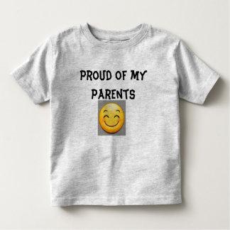 Stolz auf meine Eltern Kleinkind T-shirt