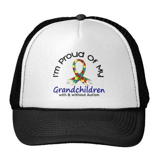 Stolz auf meine Enkelkinder mit u. ohne Autismus Retrokappe