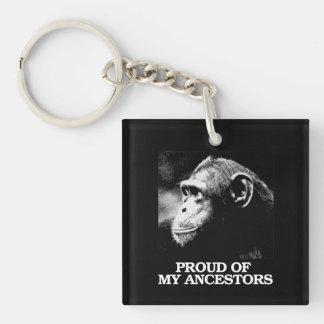 Stolz auf meine Vorfahren - Evolution - - Schlüsselanhänger