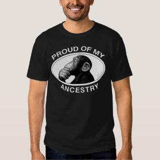 Stolz auf meinen Herkunfts-Schimpansen T-Shirts