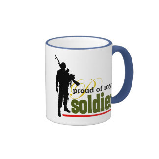 Stolz auf meinen Soldaten Kaffee Tasse