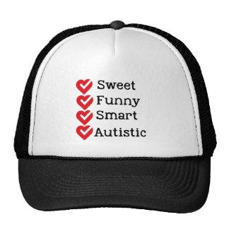 Stolz, autistisch zu sein trucker mütze