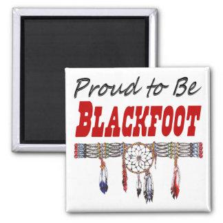 Stolz, Blackfoot Magnet zu sein Quadratischer Magnet