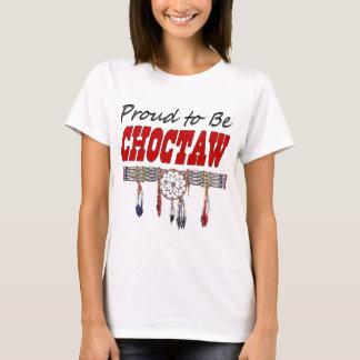 Stolz, Choctaw-Damen-angepasster T - Shirt zu sein
