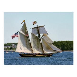 Stolz der hohen Schiffs-Postkarte Baltimores II Postkarte