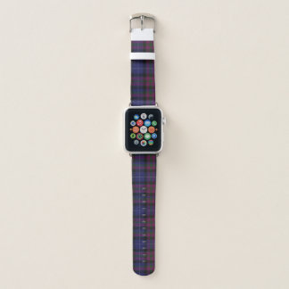 Stolz des karierten Apple Uhrenarmbands Apple Watch Armband