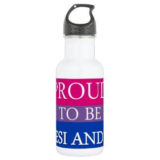 Stolz, Desi und Bi zu sein Trinkflasche