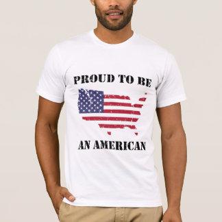 Stolz ein Amerikaner sein - patriotisch T-Shirt
