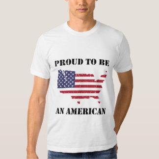 Stolz ein Amerikaner sein - patriotisch Tshirt