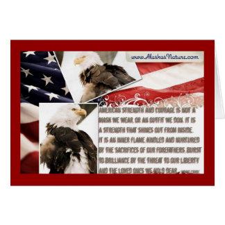 Stolz, ein Amerikaner zu sein! Karte
