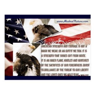 Stolz, ein Amerikaner zu sein! Postkarten