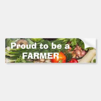 Stolz, ein Bauer zu sein Autoaufkleber