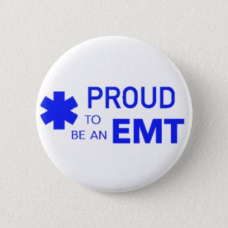 Stolz, ein EMT zu sein Runder Button 5,7 Cm