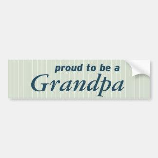 Stolz, ein Großvater zu sein! Autoaufkleber