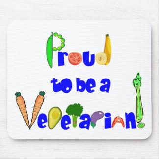 Stolz, ein Vegetarier zu sein Mousepad