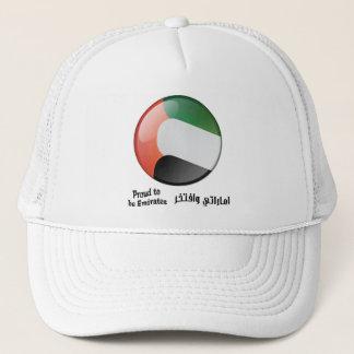 Stolz, Emirat-Hut zu sein Truckerkappe