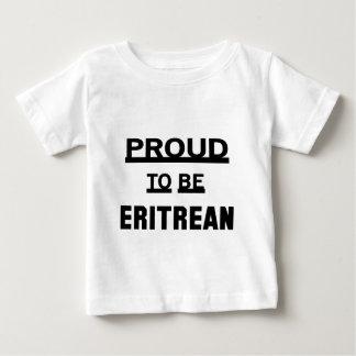Stolz, eritreisch zu sein baby t-shirt